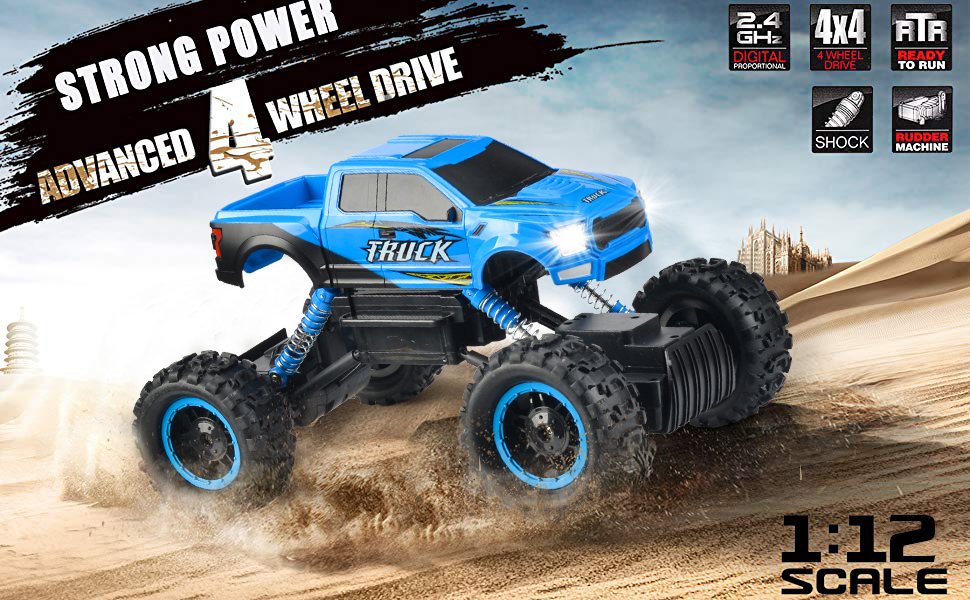 3a4dfd0f f982 4bc6 8766 9c8ba9a0691f.  CR0,0,970,600 PT0 SX970 V1    - RC Car 2021 Newest 1/12 Scale Remote Control Car, 2.4Ghz Off Road RC Trucks with Rechargeable Battery Dual Motors Off Road RC Truck Play Electric Toy Car High Speed Racing Car for All Adults & Kids