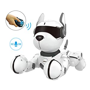 3b851dd4 1caa 41f0 a0b5 0267e61ff342.  CR0,0,1011,1011 PT0 SX300 V1    - Top Race Remote Control Robot Dog Toy for Kids, Interactive & Smart Dancing to Beat Puppy Robot, Act Like Real Dogs, Gift Toy for Girls & Boys Ages 2,3,4,5,6,7,8,9,10 Years