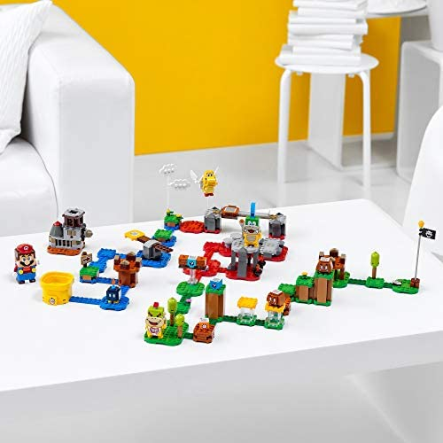 416D1RGPkBL. AC  - LEGO Super Mario Master Your Adventure Maker Set 71380 Building Kit; Collectible Gift Toy Playset for Creative Kids, New 2021 (366 Pieces)
