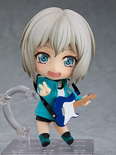 419rZPCNaML. AC  - Good Smile Bang Dream! Girls Band Party: Moca Aoba (Stage Outfit Version) Nendoroid Action Figure, Multicolor
