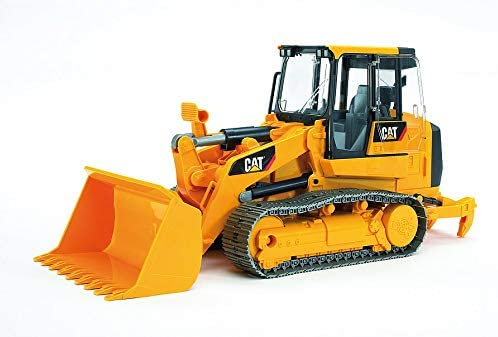 41C+AGkiGvL. AC  - Bruder Toys - Construction Realistic CAT Track Loader with Openable Cabin Doors and Adjustable/Detachable Loading Arm - Ages 4+