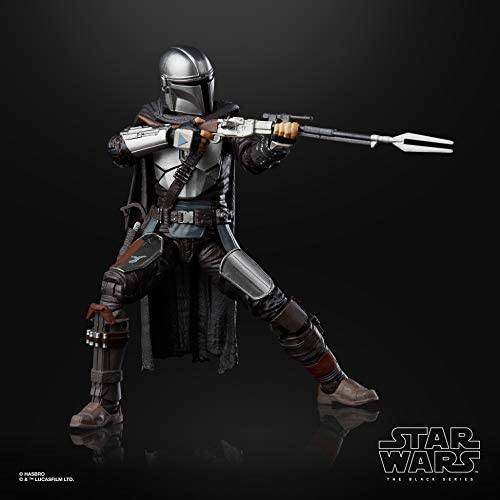 41RbLgMCVgL. AC  - Star Wars The Black Series The Mandalorian Toy 6-Inch-Scale Collectible Action Figure, Toys for Kids Ages 4 and Up