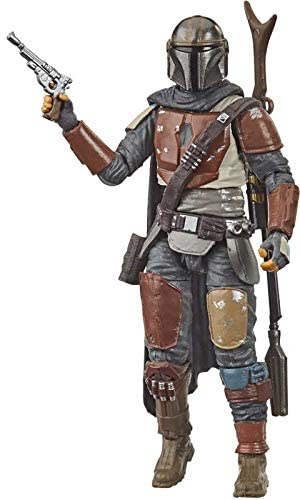 41SLX+diQlL. AC  - Star Wars - The Vintage Collection - The Mandalorian - 3.75 inch Action Figure - The Mandalorian is Battle-Worn and Tight-lipped!