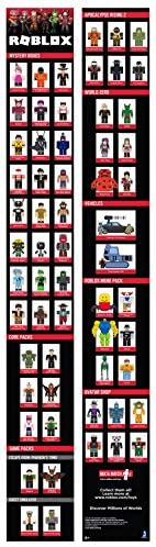 41TkED7pzkL. AC  - Roblox Action Collection: from The Vault 20 Figure Pack [Includes 20 Exclusive Virtual Items]