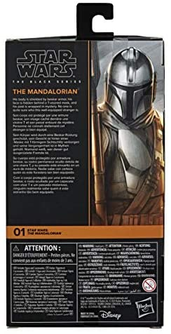 41UGQxtkyDL. AC  - Star Wars The Black Series The Mandalorian Toy 6-Inch-Scale Collectible Action Figure, Toys for Kids Ages 4 and Up