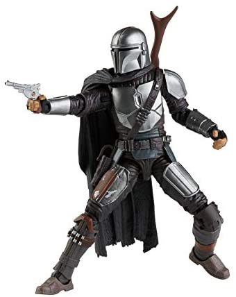 41Vltye1fML. AC  - Star Wars The Black Series The Mandalorian Toy 6-Inch-Scale Collectible Action Figure, Toys for Kids Ages 4 and Up
