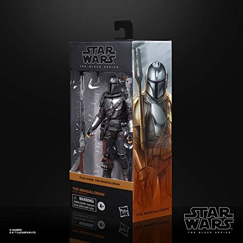 41as TzjcZL. AC  - Star Wars The Black Series The Mandalorian Toy 6-Inch-Scale Collectible Action Figure, Toys for Kids Ages 4 and Up