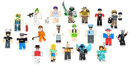 41du+zcMFNL. AC  - Roblox Action Collection: from The Vault 20 Figure Pack [Includes 20 Exclusive Virtual Items]