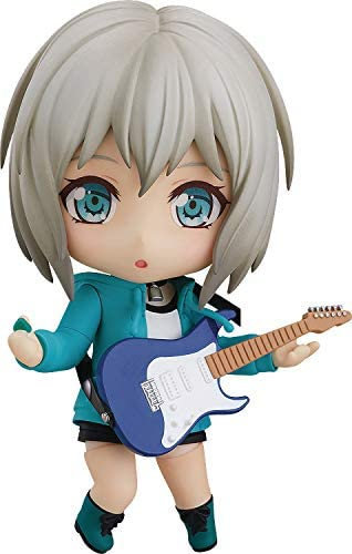 41fPvA4AXTL. AC  - Good Smile Bang Dream! Girls Band Party: Moca Aoba (Stage Outfit Version) Nendoroid Action Figure, Multicolor