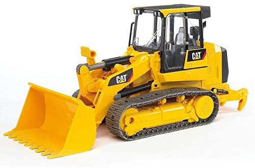41gFIBqaB3L. AC  - Bruder Toys - Construction Realistic CAT Track Loader with Openable Cabin Doors and Adjustable/Detachable Loading Arm - Ages 4+
