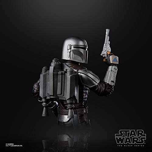 41lWzA8BeZL. AC  - Star Wars The Black Series The Mandalorian Toy 6-Inch-Scale Collectible Action Figure, Toys for Kids Ages 4 and Up