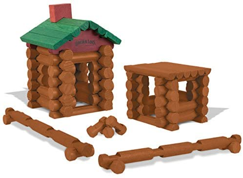 41msvS7fwrL. AC  - LINCOLN LOGS –100th Anniversary Tin-111 Pieces-Real Wood Logs-Ages 3+ - Best Retro Building Gift Set for Boys/Girls - Creative Construction Engineering – Top Blocks Game Kit - Preschool Education Toy