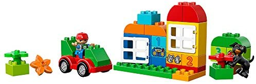 41s SnZKBNL. AC  - LEGO DUPLO All-in-One-Box-of-Fun Building Kit 10572 Open Ended Toy for Imaginative Play with Large Bricks Made for Toddlers and preschoolers (65 Pieces)