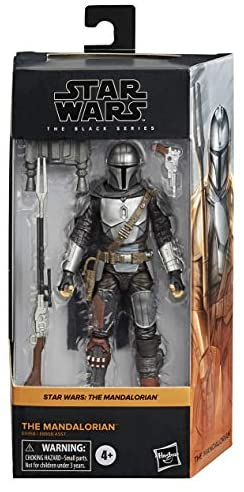 41t0QlJkaiL. AC  - Star Wars The Black Series The Mandalorian Toy 6-Inch-Scale Collectible Action Figure, Toys for Kids Ages 4 and Up