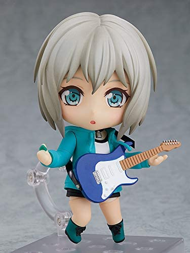 41uDrmUo3AL. AC  - Good Smile Bang Dream! Girls Band Party: Moca Aoba (Stage Outfit Version) Nendoroid Action Figure, Multicolor