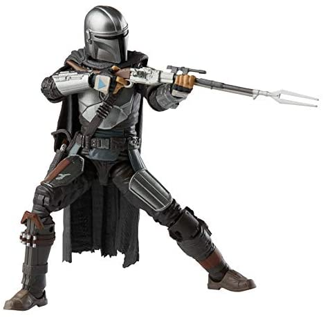 41zZMcJyQQL. AC  - Star Wars The Black Series The Mandalorian Toy 6-Inch-Scale Collectible Action Figure, Toys for Kids Ages 4 and Up