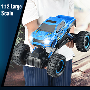 4698c373 9383 4cc6 be8e c5271c4a473f.  CR0,0,300,300 PT0 SX300 V1    - RC Car 2021 Newest 1/12 Scale Remote Control Car, 2.4Ghz Off Road RC Trucks with Rechargeable Battery Dual Motors Off Road RC Truck Play Electric Toy Car High Speed Racing Car for All Adults & Kids