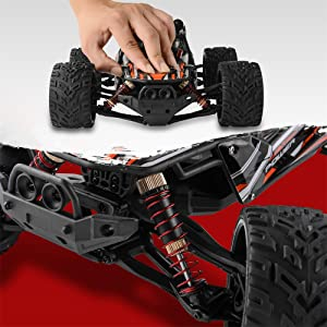 487ee8b8 6da6 40cf b0e5 f663bb02abda.  CR0,0,1000,1000 PT0 SX300 V1    - BEZGAR 8 Hobbyist Grade 1:12 Scale Remote Control Truck, 2WD High Speed 38 Km/h All Terrains Electric Toy Off Road RC Monster Vehicle Car Crawler with 2 Rechargeable Batteries