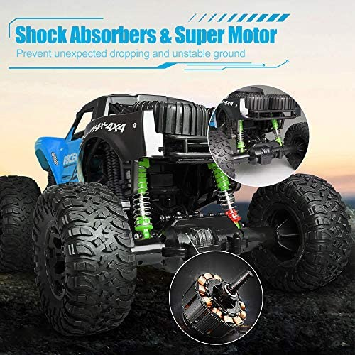 514IMkzrQIL. AC  - WQ Amphibious RC Car Toy Remote Control Car Boat, Super Load-Bearing 4WD Off Road Racing Car, 1:12 Scale RC Truck - All Terrain Waterproof Toys Trucks for Kids and Adult