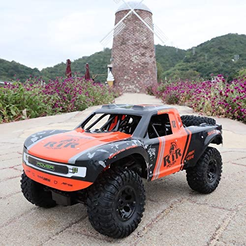 51FXg+xFOAL. AC  - Bwine C11 1:10 Scale RC Car, Amphibious Remote Control Car for Boys Age 8-12, 4WD Waterproof Monster Truck, Rock Crawler Vehicle for Kids and Adults, 2 Batteries for 40+ Min Play