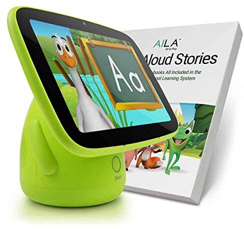 51JcVnyrGBL. AC  - ANIMAL ISLAND AILA Sit & Play Plus Preschool Learning and Reading System Essential for Toddlers 12-36 Months, 60 Storybooks, Letters, Numbers, Vocabulary Words, Songs Best Baby Gift Mom's Choice Gold