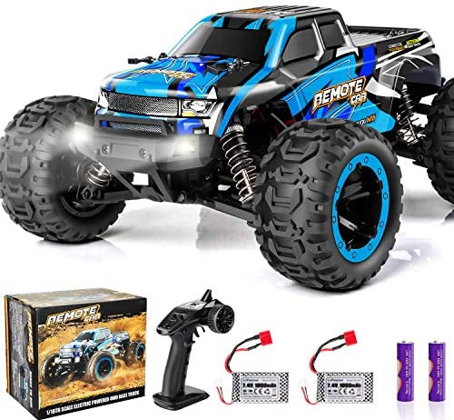 51KHyO5BhnL. AC  - PHYWESS RC Cars Remote Control Car for Boys 2.4 GHZ High Speed Racing Car, 1:16 RC Trucks 4x4 Offroad with Headlights, Electric Rock Crawler Toy Car Gift for Kids Adults Girls