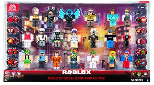 51MmelzrC0L. AC  - Roblox Action Collection: from The Vault 20 Figure Pack [Includes 20 Exclusive Virtual Items]