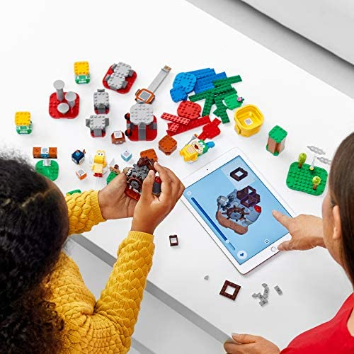 51OZa5gjD+L. AC  - LEGO Super Mario Master Your Adventure Maker Set 71380 Building Kit; Collectible Gift Toy Playset for Creative Kids, New 2021 (366 Pieces)