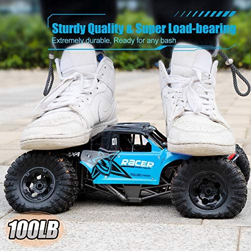 51QYbFFvExL. AC  - WQ Amphibious RC Car Toy Remote Control Car Boat, Super Load-Bearing 4WD Off Road Racing Car, 1:12 Scale RC Truck - All Terrain Waterproof Toys Trucks for Kids and Adult