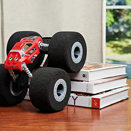51Qc6+PlJyL. AC  - Air Hogs Super Soft, Stunt Shot Indoor Remote Control Stunt Vehicle with Soft Wheels, for Kids Aged 5 and up