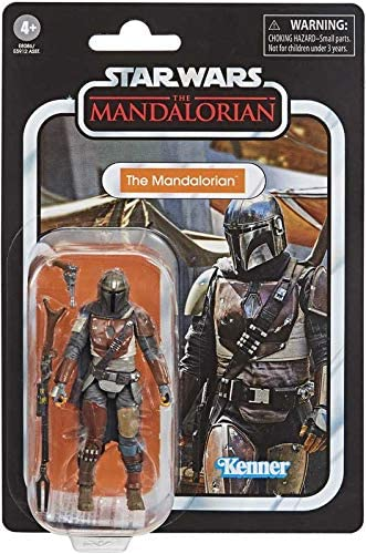 51W td8AqML. AC  - Star Wars - The Vintage Collection - The Mandalorian - 3.75 inch Action Figure - The Mandalorian is Battle-Worn and Tight-lipped!
