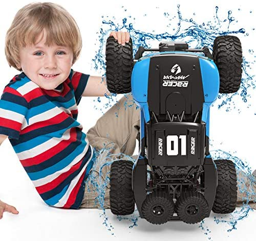 51ZzI6YRmFL. AC  - WQ Amphibious RC Car Toy Remote Control Car Boat, Super Load-Bearing 4WD Off Road Racing Car, 1:12 Scale RC Truck - All Terrain Waterproof Toys Trucks for Kids and Adult