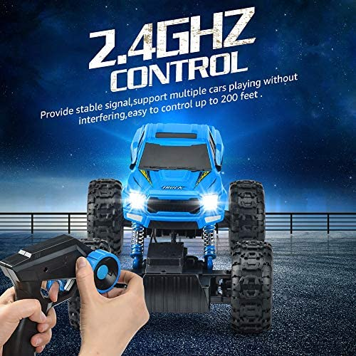 51o7Tq9oecL. AC  - RC Car 2021 Newest 1/12 Scale Remote Control Car, 2.4Ghz Off Road RC Trucks with Rechargeable Battery Dual Motors Off Road RC Truck Play Electric Toy Car High Speed Racing Car for All Adults & Kids
