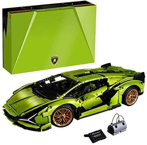 51sHbNr1IhL. AC  - LEGO Technic Lamborghini Sián FKP 37 (42115), Model Car Building Kit for Adults, Build and Display This Distinctive Model, a True Representation of The Original Sports Car, New 2020 (3,696 Pieces)