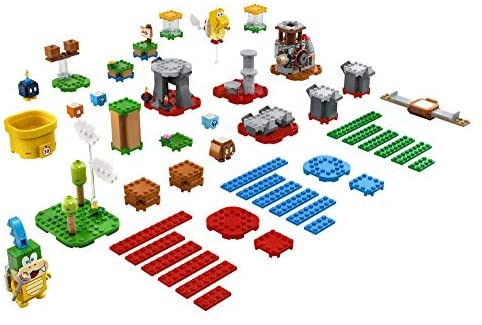 51sRN0U+RtL. AC  - LEGO Super Mario Master Your Adventure Maker Set 71380 Building Kit; Collectible Gift Toy Playset for Creative Kids, New 2021 (366 Pieces)