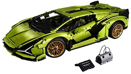 51w9XjeAnFL. AC  - LEGO Technic Lamborghini Sián FKP 37 (42115), Model Car Building Kit for Adults, Build and Display This Distinctive Model, a True Representation of The Original Sports Car, New 2020 (3,696 Pieces)