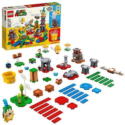 51xK4rVgYrL. AC  - LEGO Super Mario Master Your Adventure Maker Set 71380 Building Kit; Collectible Gift Toy Playset for Creative Kids, New 2021 (366 Pieces)