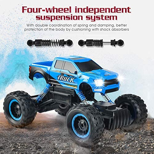 61gooBZ5DiL. AC  - RC Car 2021 Newest 1/12 Scale Remote Control Car, 2.4Ghz Off Road RC Trucks with Rechargeable Battery Dual Motors Off Road RC Truck Play Electric Toy Car High Speed Racing Car for All Adults & Kids