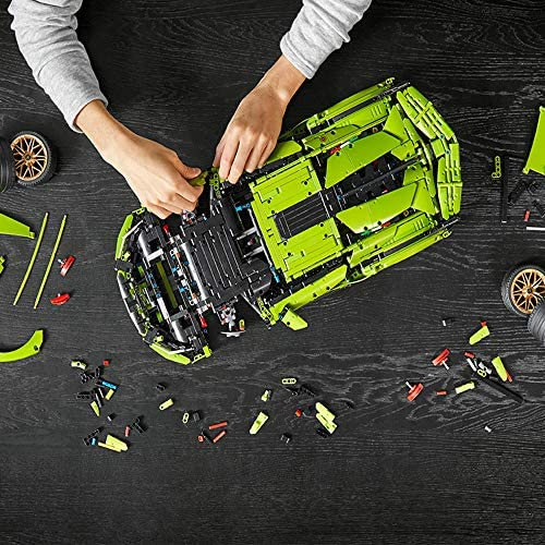 61uWabVEdcL. AC  - LEGO Technic Lamborghini Sián FKP 37 (42115), Model Car Building Kit for Adults, Build and Display This Distinctive Model, a True Representation of The Original Sports Car, New 2020 (3,696 Pieces)