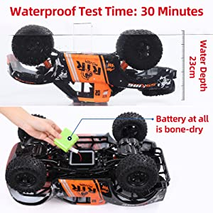 652de058 d551 4ac8 a215 138638084ac2.  CR0,0,1600,1600 PT0 SX300 V1    - Bwine C11 1:10 Scale RC Car, Amphibious Remote Control Car for Boys Age 8-12, 4WD Waterproof Monster Truck, Rock Crawler Vehicle for Kids and Adults, 2 Batteries for 40+ Min Play