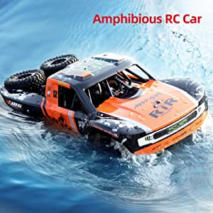 900790f1 6f69 4c02 90ec 232705d5ef16.  CR0,0,1600,1600 PT0 SX300 V1    - Bwine C11 1:10 Scale RC Car, Amphibious Remote Control Car for Boys Age 8-12, 4WD Waterproof Monster Truck, Rock Crawler Vehicle for Kids and Adults, 2 Batteries for 40+ Min Play