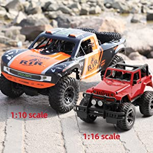 af28b07a 8471 4a88 abda cc9b824dfae1.  CR0,0,1600,1600 PT0 SX300 V1    - Bwine C11 1:10 Scale RC Car, Amphibious Remote Control Car for Boys Age 8-12, 4WD Waterproof Monster Truck, Rock Crawler Vehicle for Kids and Adults, 2 Batteries for 40+ Min Play