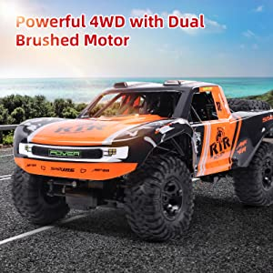 d0b0fc34 1699 4cc9 86a3 6211b1df13d0.  CR0,0,1600,1600 PT0 SX300 V1    - Bwine C11 1:10 Scale RC Car, Amphibious Remote Control Car for Boys Age 8-12, 4WD Waterproof Monster Truck, Rock Crawler Vehicle for Kids and Adults, 2 Batteries for 40+ Min Play
