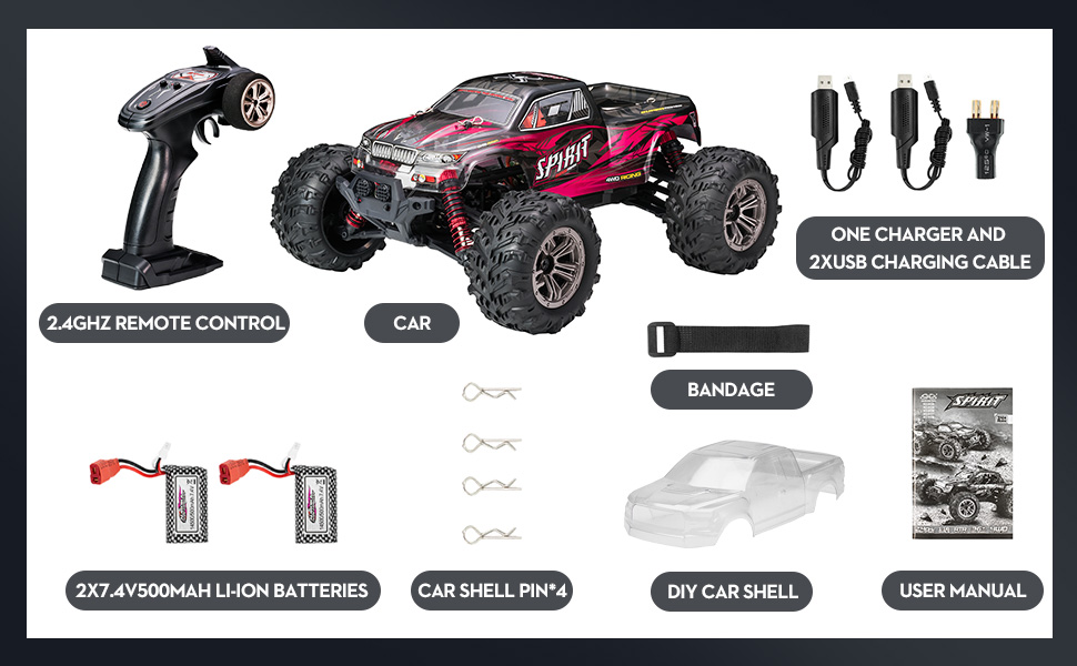 03f8fa13 5df1 44aa 8bae 812447d0f66a.  CR0,0,970,600 PT0 SX970 V1    - Hobby RC Cars,FLYHAL 9135 Pro Remote Control Car RC Cars for Adults 30+MPH 45km/h 4WD Professional IPX4 Waterproof 1:16 Scale Super Fast RC Cars Moster RC Trucks 4x4 Off Road 2 Batteries