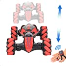 0835545e b567 4099 9de1 b9cd95d0b069.  CR0,0,1000,1000 PT0 SX135 V1    - GoolRC RC Stunt Car, 4WD 2.4GHz Remote Control Car, Deformable All-Terrain Off Road Car, 360 Degree Flips Double Sided Rotating Race Car with Gesture Sensor Watch Lights Music for Kids (Blue)