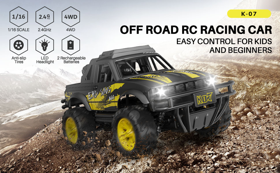 089e7736 8b0a 47ae 84b0 191fb4a78282.  CR0,0,970,600 PT0 SX970 V1    - Remote Control Jeep Dodoeleph 4X4 1:16 Large Off-Road Monster RC Trucks, 70Min Play 2.4GHz All Terrain Rock Cralwer with LED Light, High Speed Electric Vehicle Car Toy for Boys Kids