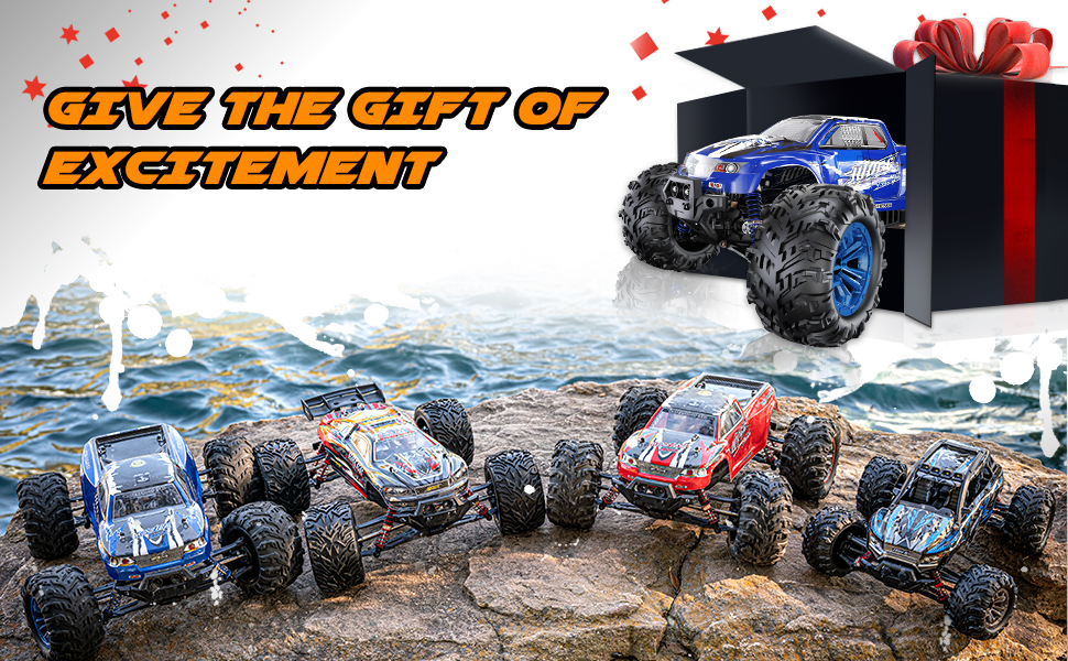 0fecacc3 dd1f 4217 bcd1 5dbc5d8dd0f6.  CR0,0,970,600 PT0 SX970 V1    - Soyee RC Cars 1:10 Scale RTR 46km/h High Speed Remote Control Car All Terrain Hobby Grade 4WD Off-Road Waterproof Monster Truck Electric Toys for Kids and Adults -1600mAh Batteries x2