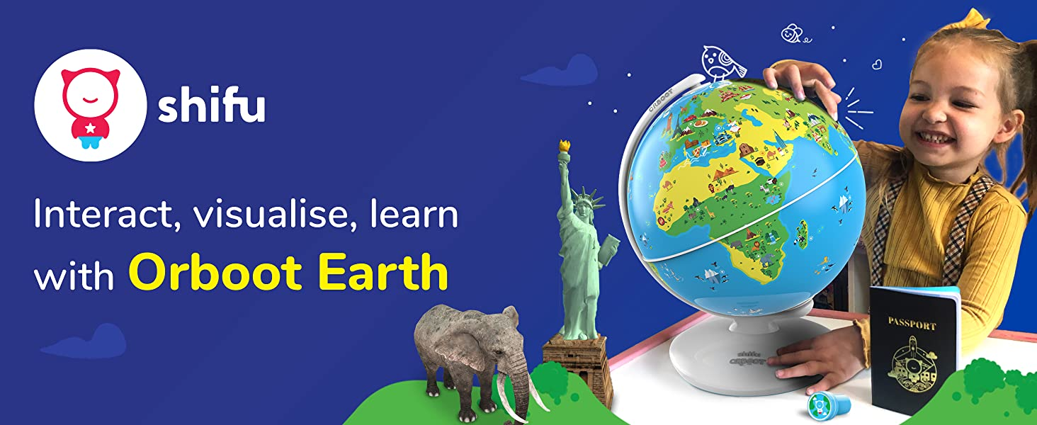 102328a1 86ff 4a5a 8826 d65840baea9d.  CR0,0,2928,1200 PT0 SX1464 V1    - Shifu Orboot (App Based): Augmented Reality Interactive Globe For Kids, Stem Toy For Boys & Girls Ages 4+ Educational Toy Gift (No Borders, No Names On Globe)