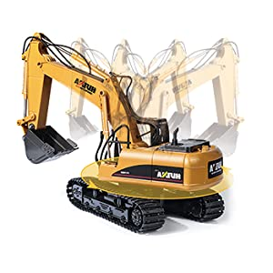 1365a04c bf00 42cb 9bfa fdc59f045f9a.  CR0,0,350,350 PT0 SX300 V1    - TEMA1985 Remote Control Excavator Toys with Metal Shovel 15 Channel Full Functional RC Construction Vehicles with Lights & Sound 2.4Ghz RC Excavator Toys for Boys