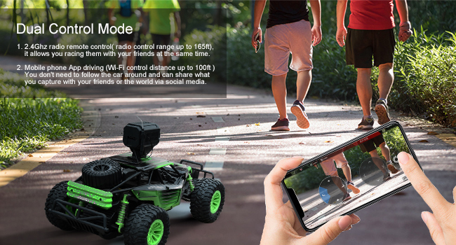 1d59e8fa 628b 4834 ad9d 19b0c22a9056.  CR0,0,650,350 PT0 SX650 V1    - Gizmovine Remote Control Car with Camera, High Speed Racing Off-Road RC Cars with 2 Rechargeable Batteries, Waterproof RC Monster Trucks Buggy Vehicle Electric Toy Cars for All Kids Boy